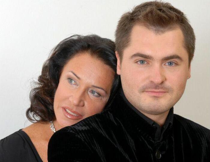 Евгений Гор и Надежда Бабкина. / Фото: www.rusdialog.ru