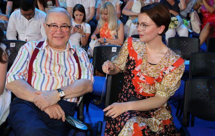Евгений Петросян и Татьяна Брухунова. / Фото: www.monavista.ru