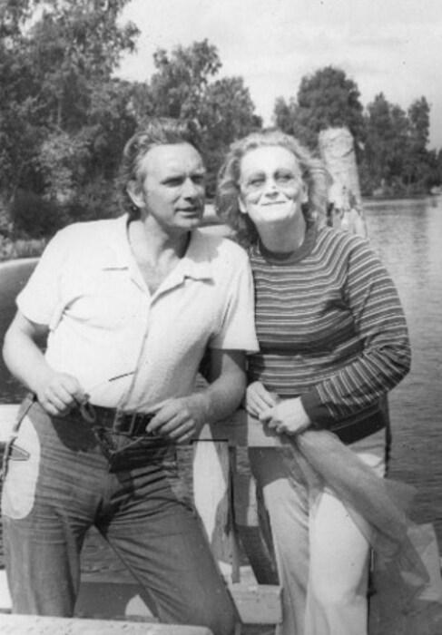 Велта Лине и Гунар Цилинский. / Фото: www.kino-teatr.ru