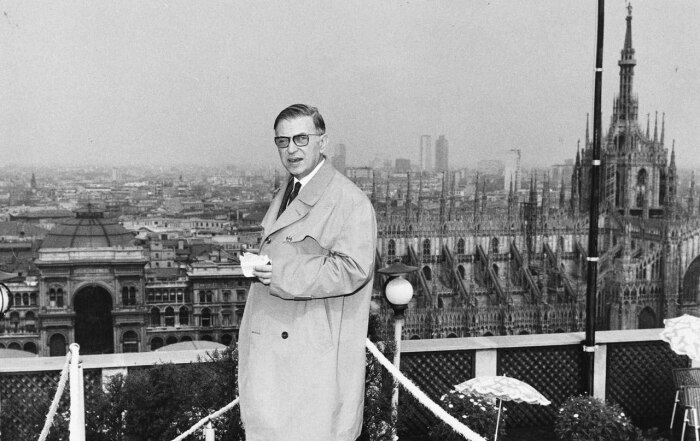 Жан-Поль Сартр. / Фото: www.blogspot.com