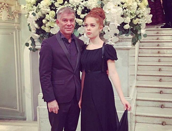 Олег Газманов с дочерью. / Фото: www.jauns.lv