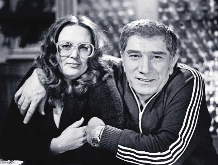 Армен Джигарханян и Татьяна Власова. / Фото: www.kioskplus.ru