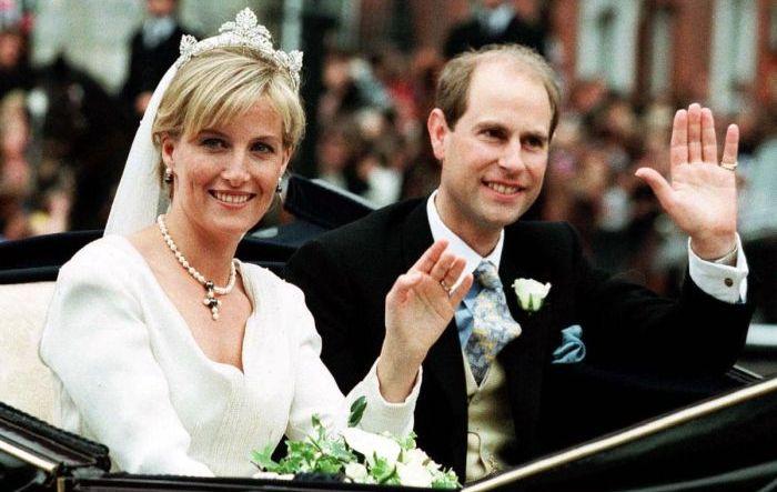 Принц Эдвард и Софи Рис-Джонс. / Фото: www.joinfo.com