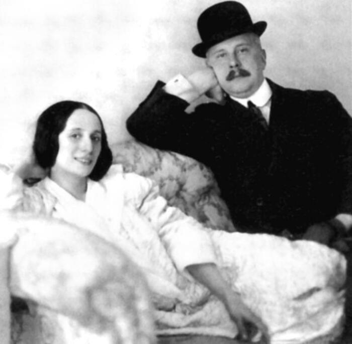 Анна Павлова и Виктор Дандре. / Фото: www.libmir.com