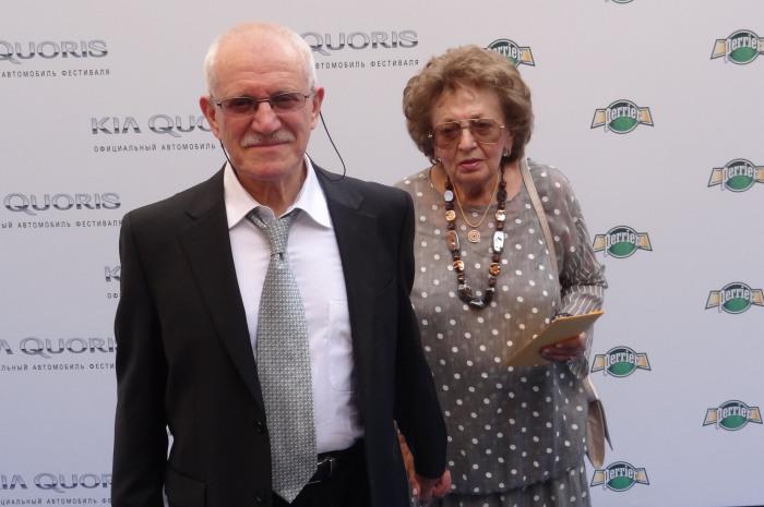 Александр Митта и Лилия Майорова. / Фото: www.wikimedia.org