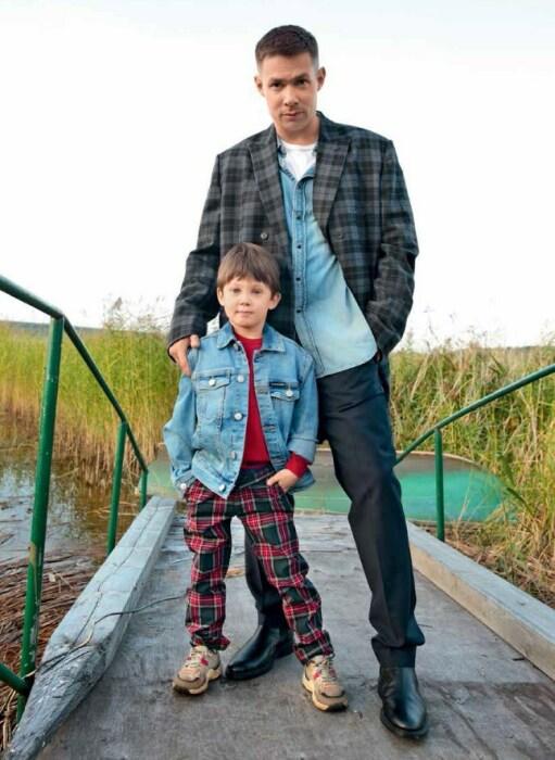 Стас Пьеха с сыном. / Фото: www.stas-pjeha.ru