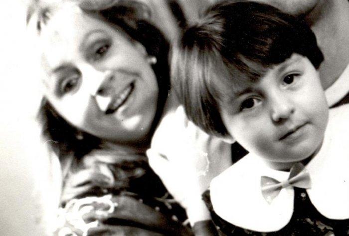 Марина Голуб с дочерью. / Фото: www.yarcenter.ru