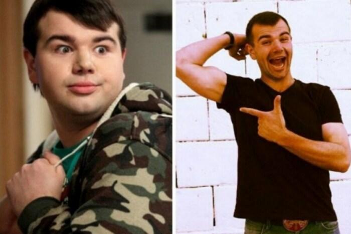 Михаил Казаков до и после похудения. / Фото: www.behealthy24.ru