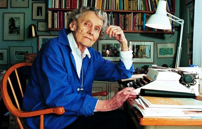 Астрид Линдгрен. / Фото: www.blogspot.com
