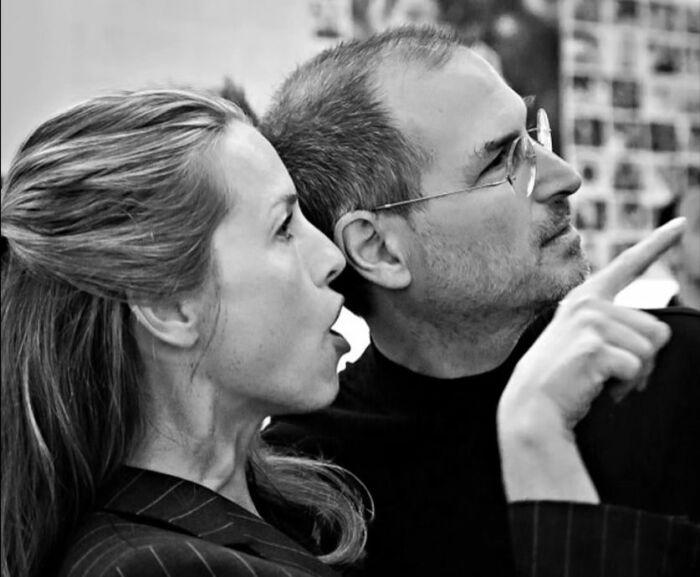 Стив Джобс и Лорен Пауэлл. / Фото: www.ytimg.com