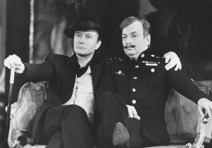 Михаил Державин и Андрей Миронов. / Фото: www.libmir.com