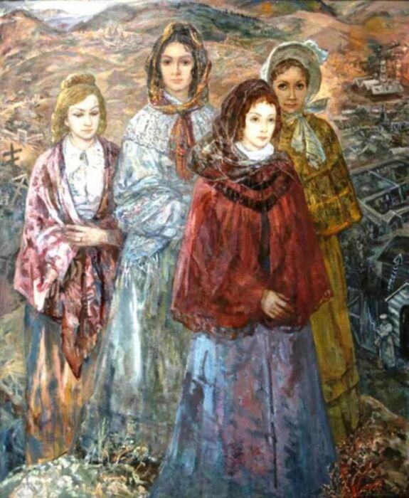 Жёны декабристов. / Фото: www.kultura-to.ru