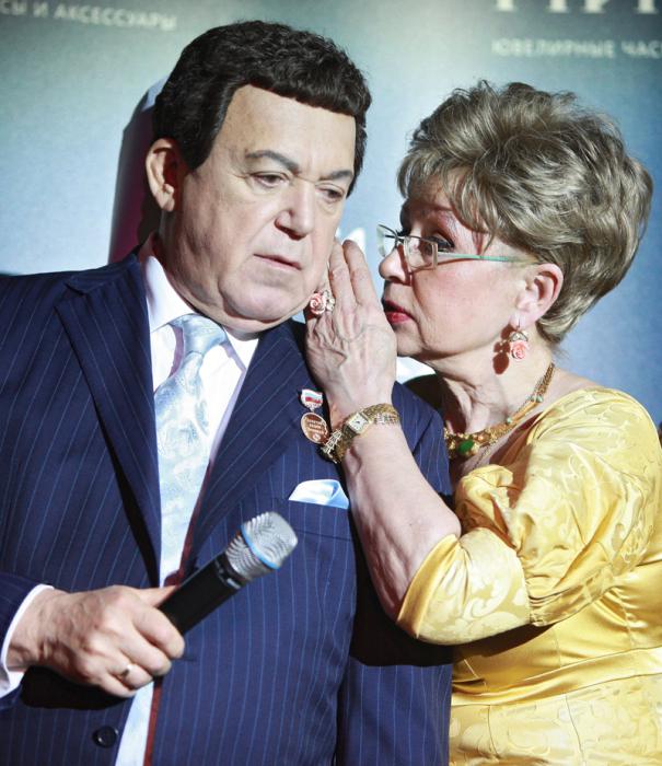 Светлана Моргунова и Иосиф Кобзон. / Фото: www.ria.ru