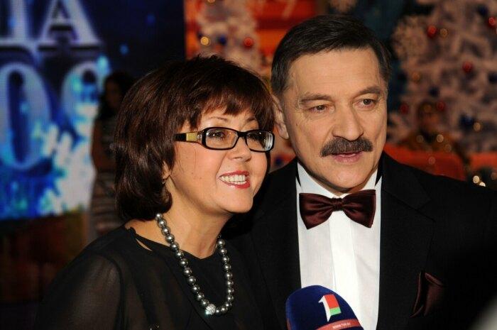 Ядвига Поплавская и Александр Тиханович. / Фото: www.goodhouse.ru