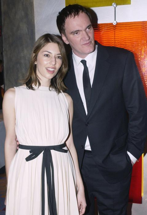 Квентин Тарантино и София Коппола. / Фото: www.amica.it