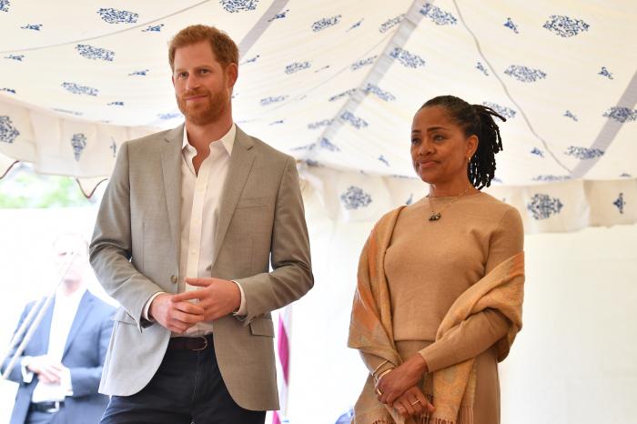 Принц Гарри и Дория Рэгланд. / Фото: www.thesun.co.uk