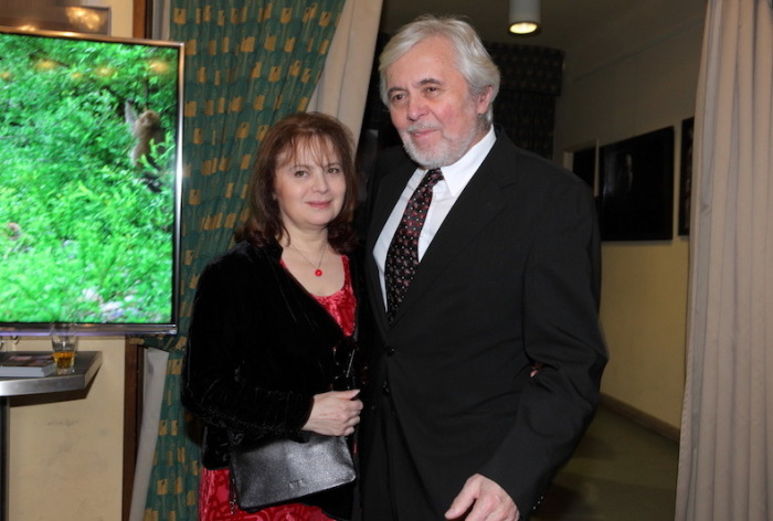 Либуше Шафранкова и Йозеф Абргам. / Фото: www.sedmicka.tyden.cz