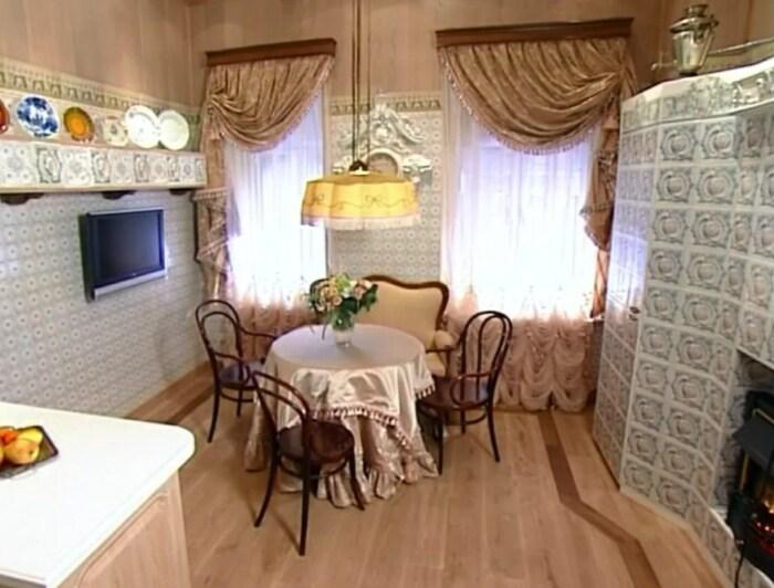 Кухня Ирины Муравьёвой после ремонта. / Фото: www.yandex.net
