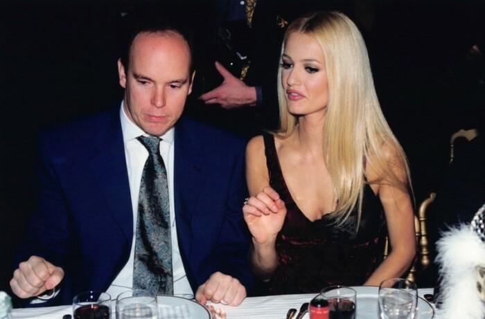 Карен Мюлдер и принц Альбер. / Фото: www.gettyimages.com
