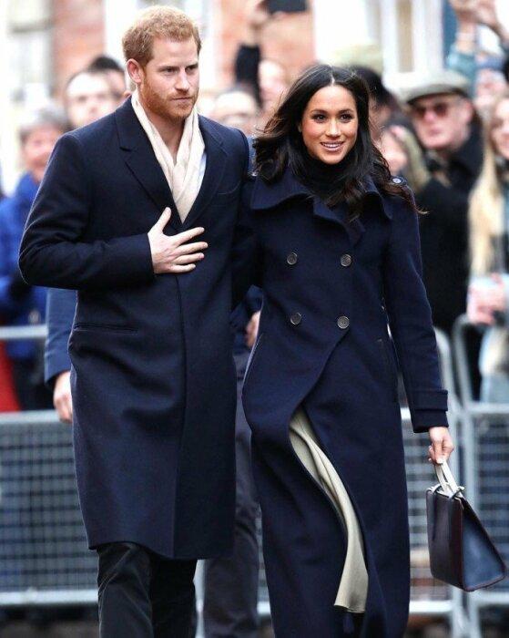 Принц Гарри и Меган Маркл. / Фото: www.eva.ru
