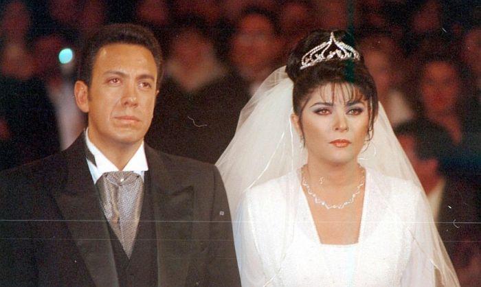 Виктория Руффо и Омар Файяд. / Фото: www.hola.com