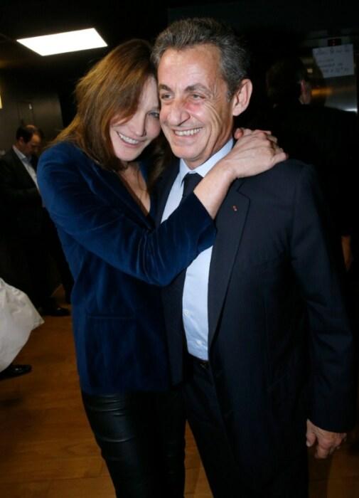 Николя Саркози и Карла Бруни. / Фото: www.amomama.com