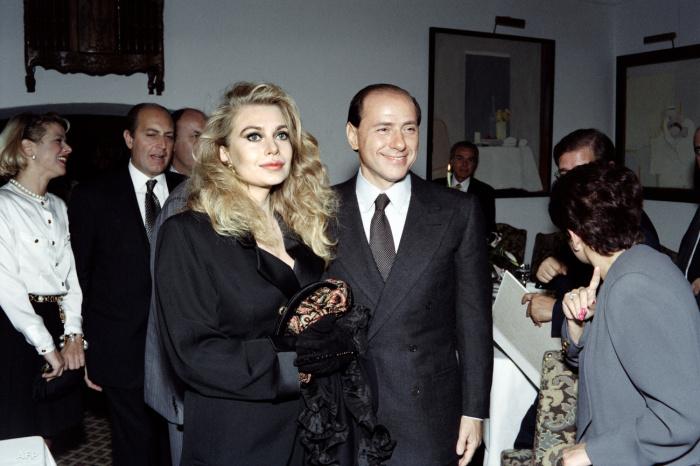 Вероника Ларио и Сильвио Берлускони. / Фото: www.index.hu