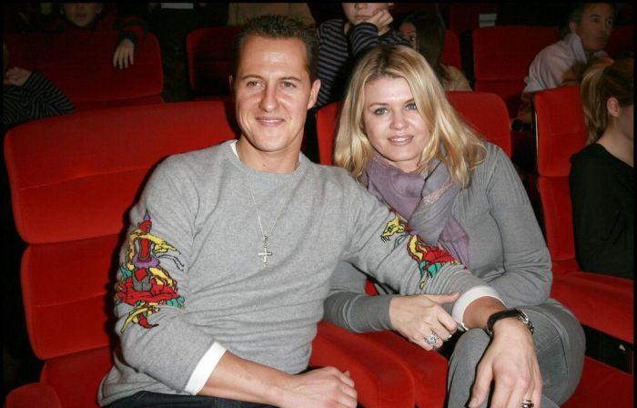 Михаэль и Коринна Шумахер. / Фото: www.kurir.rs