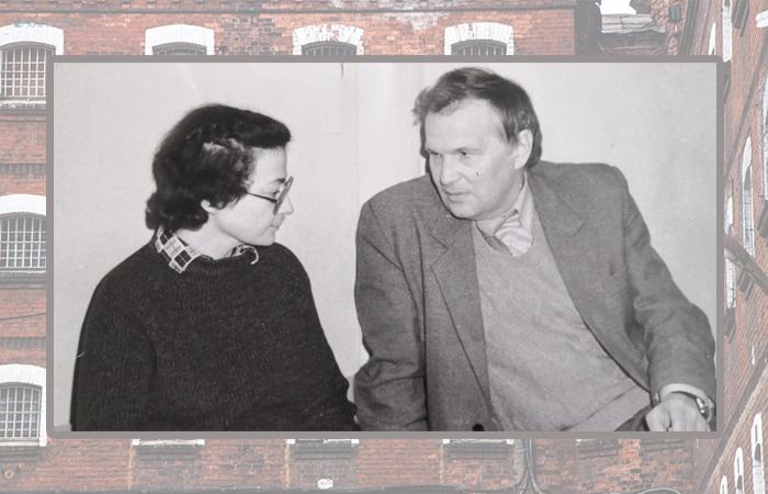 Полковник КГБ Владимир Георгиев и Наталья Воронцова.