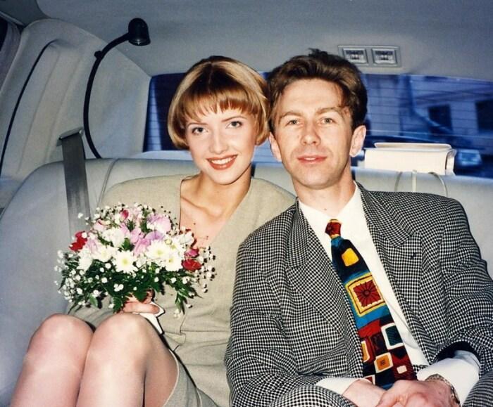 Валерий и Виола Сюткины в день бракосочетания. / Фото: www.instagram.com