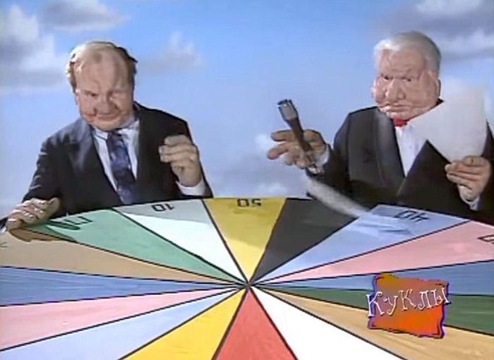 Скриншот из программы «Куклы». / Фото: www.youtube.com