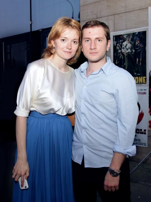 Надежда Михалкова и Резо Гигинеишвили. / Фото: www.obaldela.ru