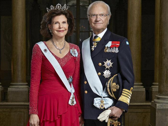Король Карла XVI и королева Сильвия. / Фото: www.muenchen.de