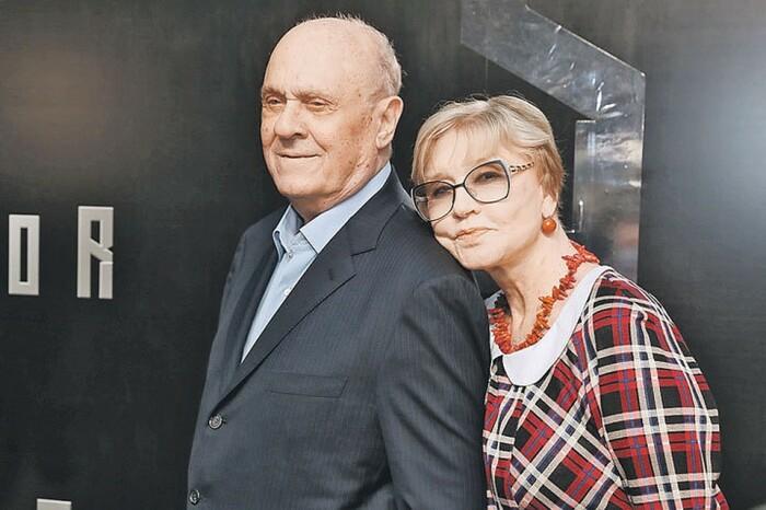 Владимир Меньшов и Вера Алентова. / Фото: www.24smi.org