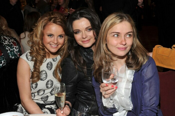 Юлия Проскурякова, Наташа Королёва и Юлия Николаева. / Фото: www.fashion2news.com