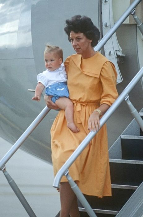 Барбара Барнс и принц Уильям. / Фото: www.thesun.ie