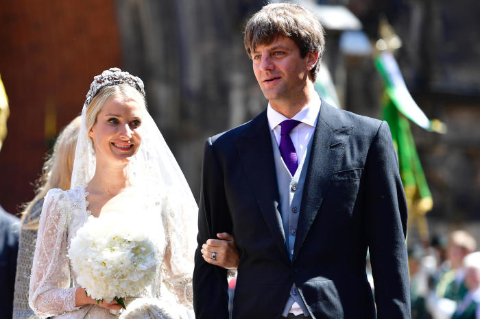 Екатерина Малышева и принц Эрнст Август. / Фото: www.gala.de