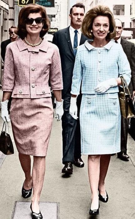 Ли Радзивилл и Жаклин Кеннеди. / Фото: www.pinimg.com