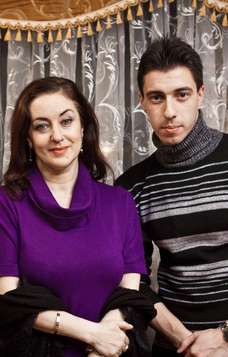 Тамара Гвердцители с сыном. / Фото: www.riabir.ru