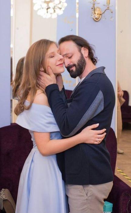 Илья Авербух и Елизавета Арзамасова. / Фото: www.just-interes.ru