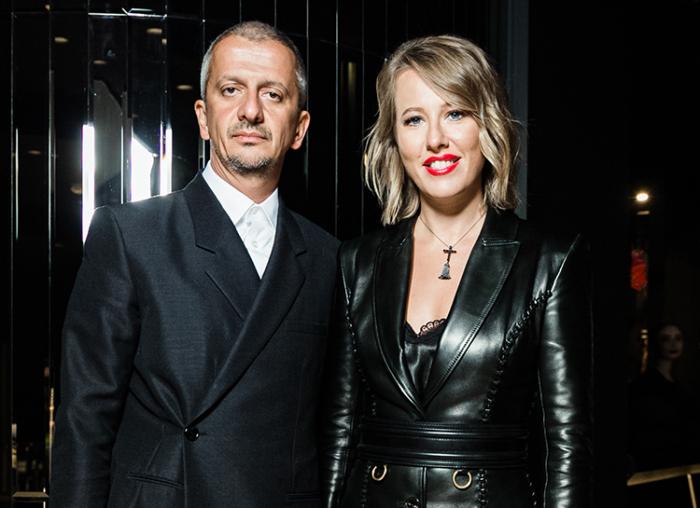 Ксения Собчак и Константин Богомолов. / Фото: www.hellomagazine.com