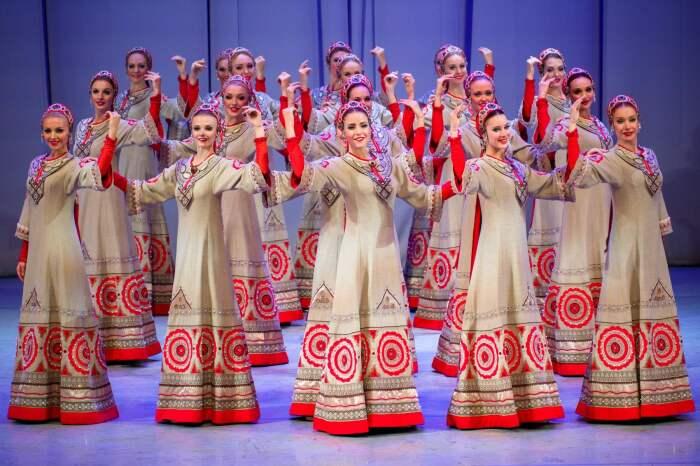 Ансамбль «Берёзка». / Фото: www.a-a-ah.ru