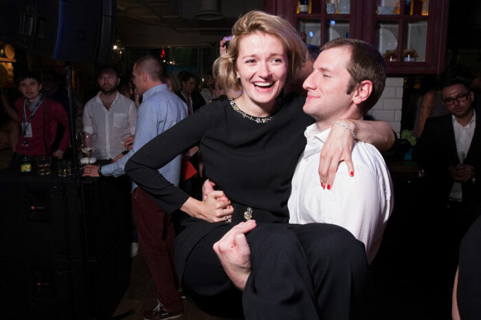 Надежда Михалкова и Резо Гигинеишвили. / Фото: www.infodays.ru