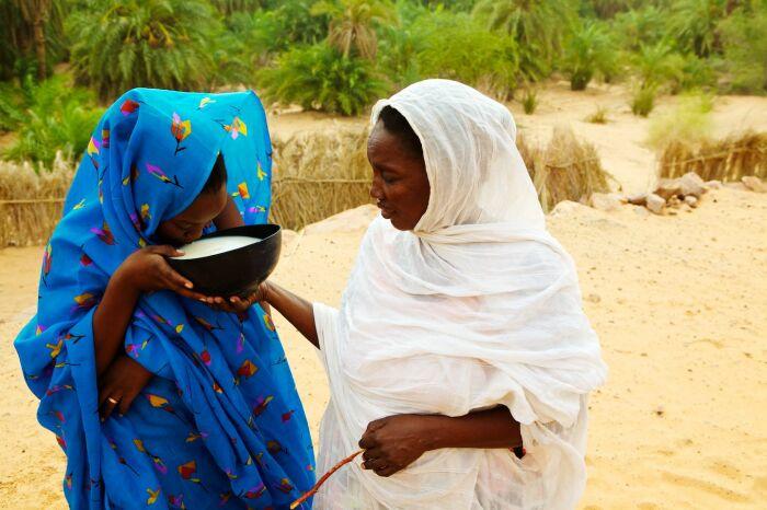 Мавританская невеста не должна быть худой. / Фото: www.deraeymaeker.com