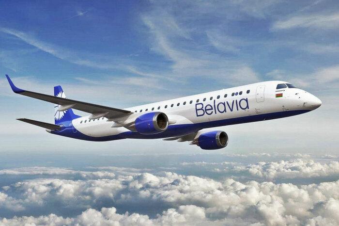 Самолет авиакомпании «Белавиа». / Фото: www.airway1.com