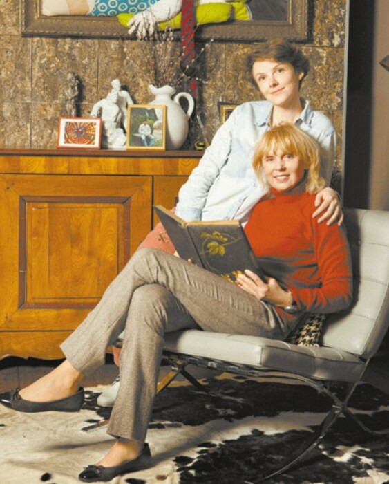 Елизавета Соломина с мамой. / Фото: www.sb.by