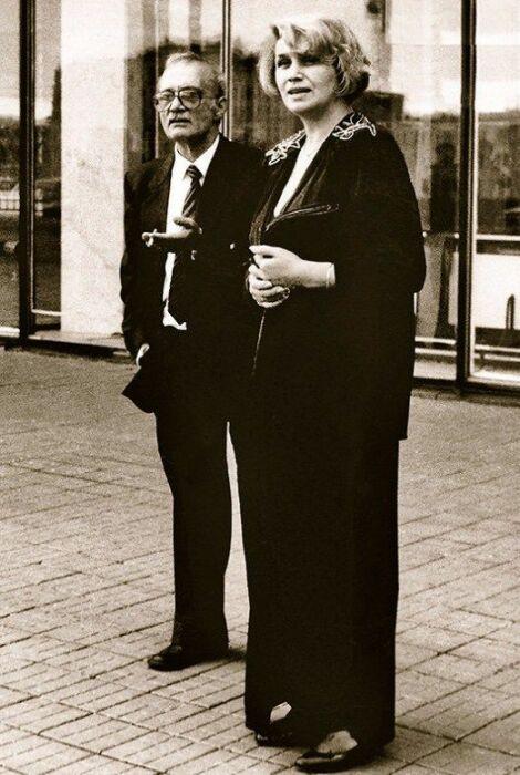 Галина Юркова и Георгий Данелия. / Фото: www.7days.ru