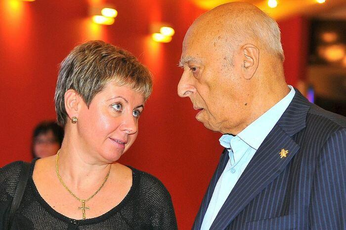 Владимир и Елена Этуш. / Фото: www.123ru.net