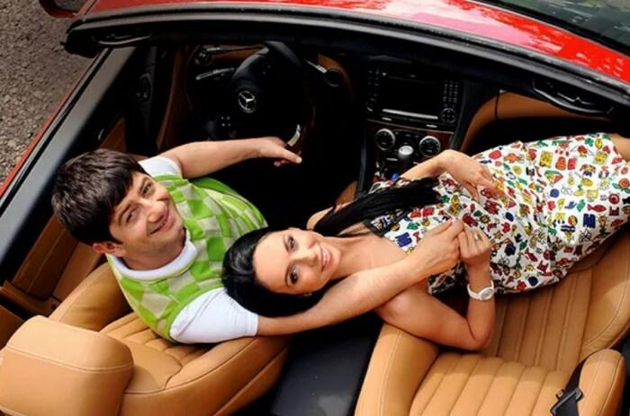 Михаил Галустян и Виктория Штефанец. / Фото: www.hellomagazine.com