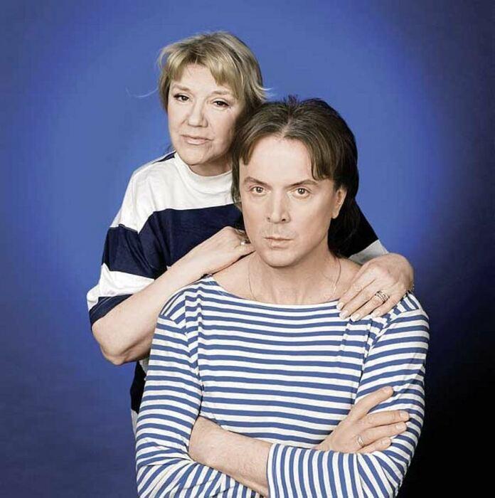Жанна Бичевская и Геннадий Пономарев. / Фото: www.biographe.ru